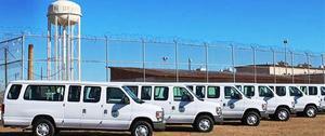 Fleet of propane vans.