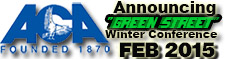 ACA Announcing Green Street Winter Conference Feb 2015